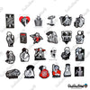 "Image of 50 PCS ""Skeleton In Love"" Vinyl Sticker Pack"
