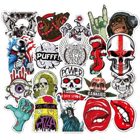 "50 PCS ""The Dead"" Theme Waterproof Stickers-SALE"
