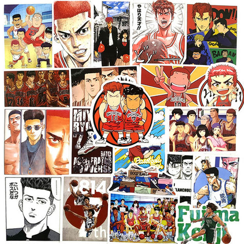 "50 PCS ""Slam Dunk"" Stickers"