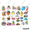 "Image of 50 PCS ""Sloth"" Vinyl Sticker Pack"