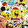 "Image of 50 PCS ""Spongebob"" Stickers"
