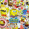 "Image of 100 PCS ""Spongebob"" Stickers"