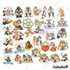 "Image of 50 PCS ""Squirrel"" Vinyl Stickers"