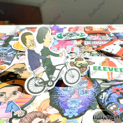 "100 PCS ""Stranger Things"" Stickers"