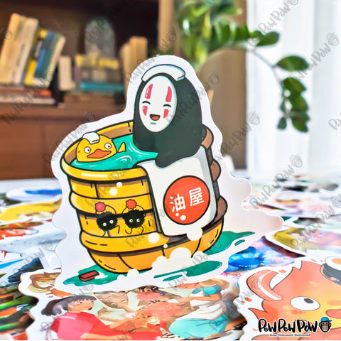 "50 PCS ""Studio Ghibli"" Vinyl Stickers"