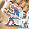 "Image of 50 PCS ""Dirty Superheroes"" Vinyl Stickers"