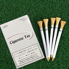 Humor Gag Golf Tee - Cigarette Style With Box (Pack of 20)