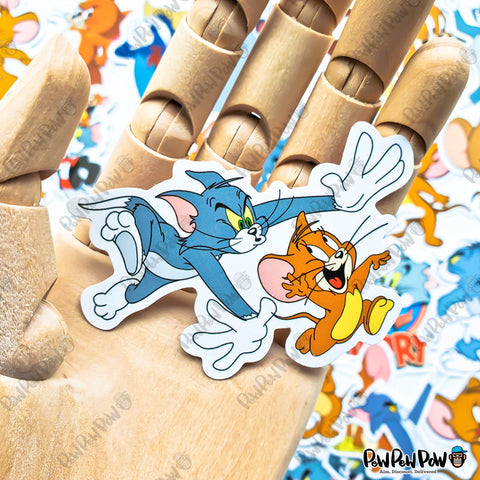"50 PCS ""Tom Jerry"" Vinyl Sticker Pack"