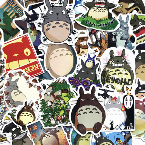 "50 PCS ""Totoro"" Theme Stickers-SALE"
