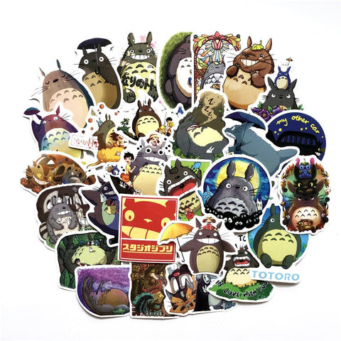 "50 PCS ""Totoro"" Theme Stickers"