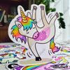 "Image of 50 PCS ""Unicorn"" Vinyl Stickers"