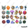 "Image of 100 PCS ""Urban Street Art"" Vinyl Sticker Pack"