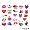"Image of 50 PCS ""Valentines Day"" Vinyl Sticker Pack"