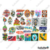 "Image of 100 PCS ""VANS Off The Wall"" Vinyl Sticker Pack"