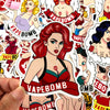 "Image of 32 PCS ""VapeBomb theme Stickers-SALE"
