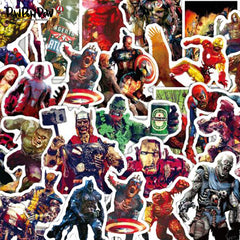 "35 PCS ""Zombie Heroes"" Waterproof Stickers"