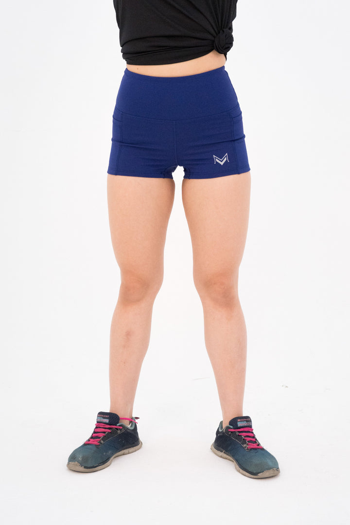 Impact Booty Shorts Navy Blue - Modern Vision