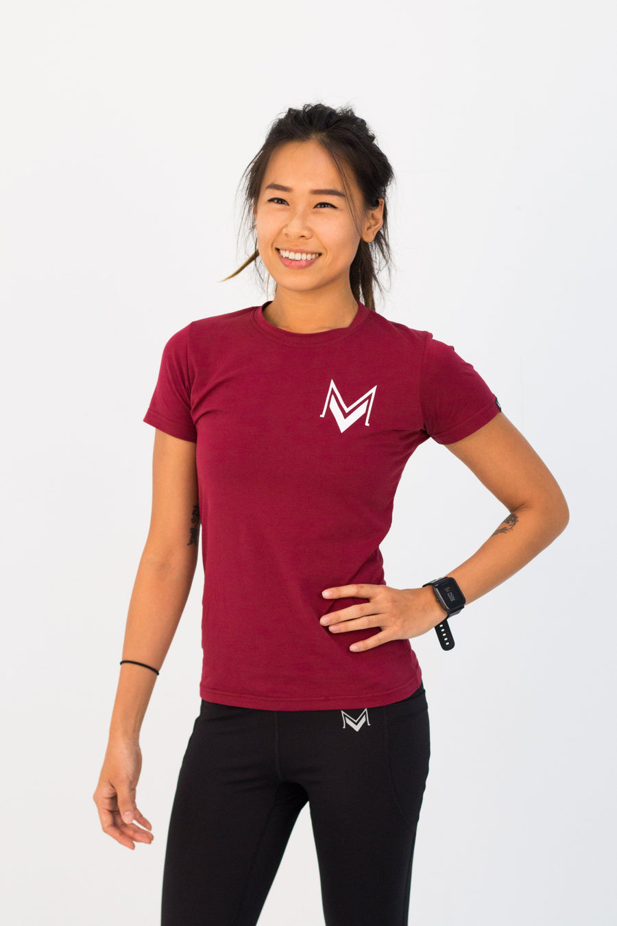 Women's Signature Maroon - Modern Vision
