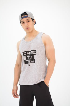 Men's Impact Tank-Top Grey - Modern Vision