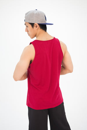 Men's Impact Tank-Top Red - Modern Vision