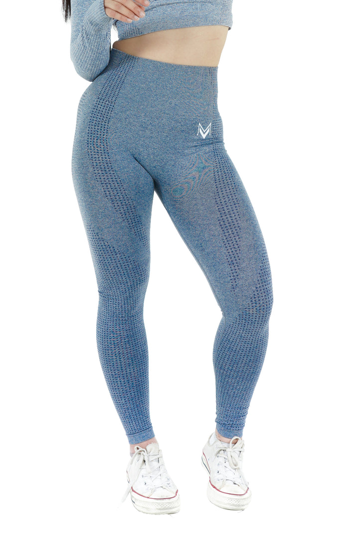 Bold Leggings Steel Blue - Modern Vision