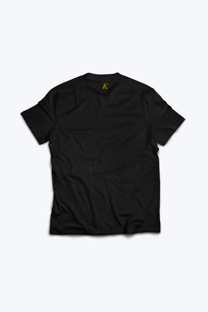 Engku Ikhwan Edition Black and Gold Tee - Modern Vision