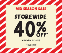 MID SEASON SALE!