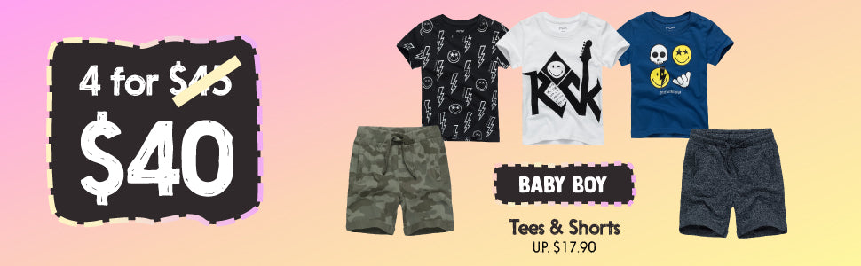 Fox Baby Boy Fashion Clothing Table Bundle Deal
