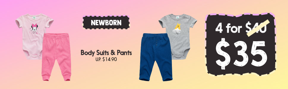 Newborn Baby Fashion Clothing Bundle Deal