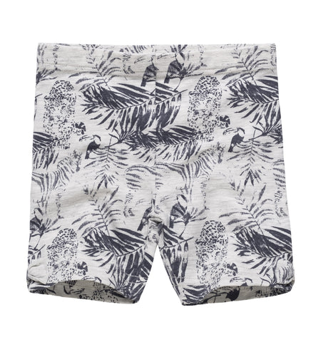 All Over Print Cotton Shorts