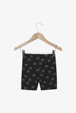 FOX Newborn & Baby Allover Print Knit Shorts