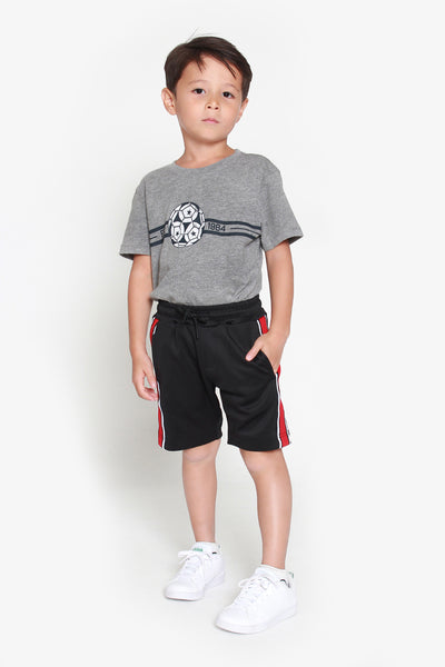 FOX KIDS Boy Active Shorts with Side Stripes