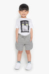 FOX Kid Boy Metal Tip Drawstring Shorts