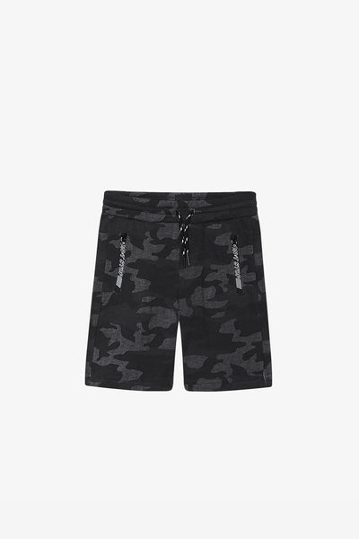 FOX Kid Boy Camouflage Print Drawstring Shorts