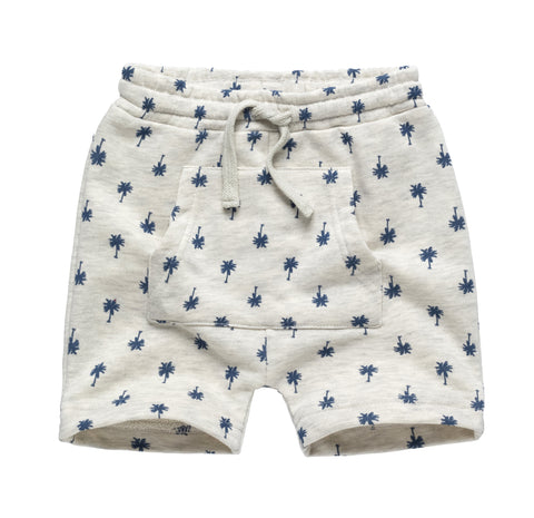 Kangaroo Pocket Knit Shorts