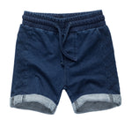 Cotton Blend Shorts