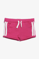 FOX BABY Girl Cotton Shorts with Side Stripes