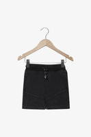 FOX Newborn & Baby Drawstring Denim Shorts