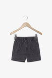 FOX Newborn & Baby Denim Front Pocket Shorts