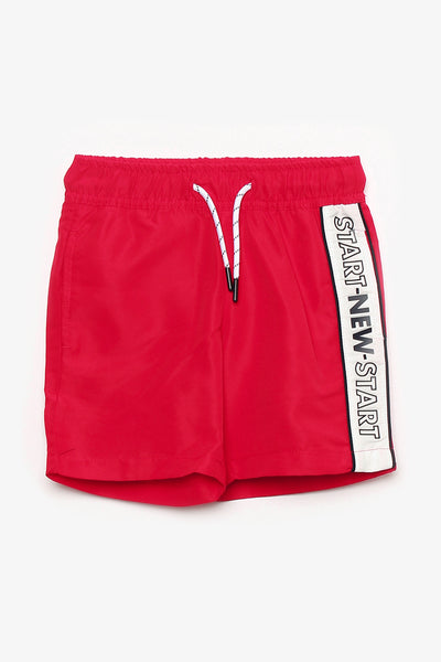 FOX KIDS Boy Slogan Print Sports Shorts