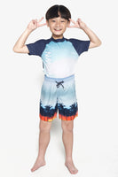 FOX Kid Boy Summer Drawstring Shorts