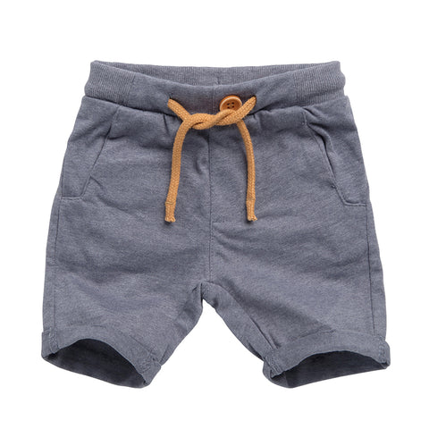 Shorts with Fake Button detail