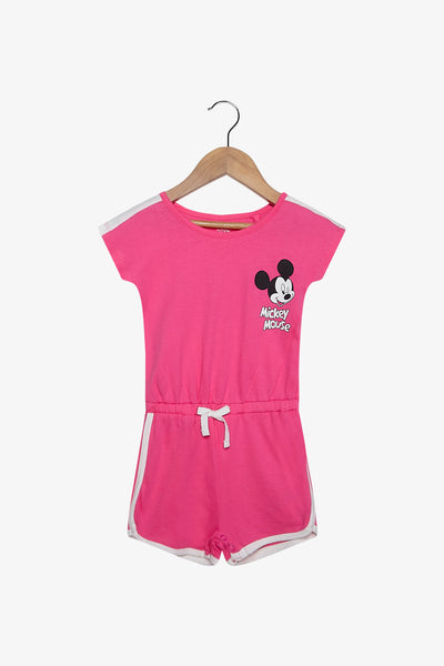 FOX Newborn & Baby Mickey Mouse Playsuit