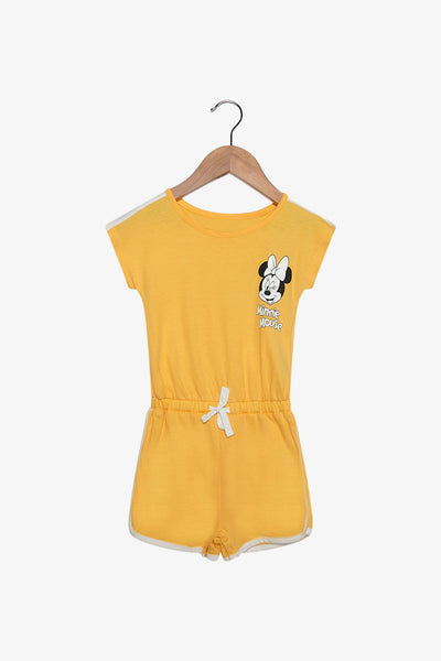 FOX Newborn & Baby Minnie Mouse Playsuit