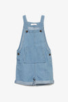 FOX BABY Boy Soft Denim Dungaree Shorts