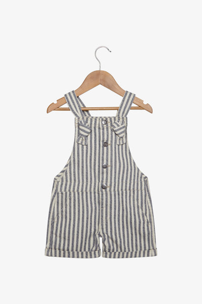 FOX Newborn & Baby Striped Dungaree
