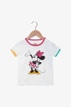 FOX NEWBORN & BABY Colourful Piping Minnie Tee