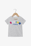 FOX NEWBORN & BABY Colourful Stiched Slogan Tee