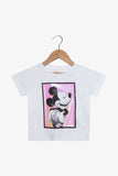 FOX Newborn & Baby Holo Mickey Graphic Tee