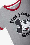 FOX Newborn & Baby Vintage Mickey Mouse Tee
